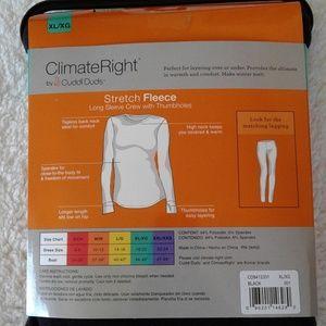 Cuddl Duds Intimates & Sleepwear - Cuddl Duds Climate Right Stretch Fleece Top